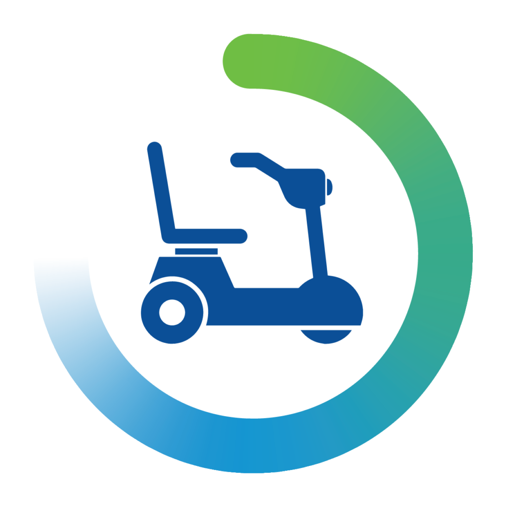 mobile chair icon