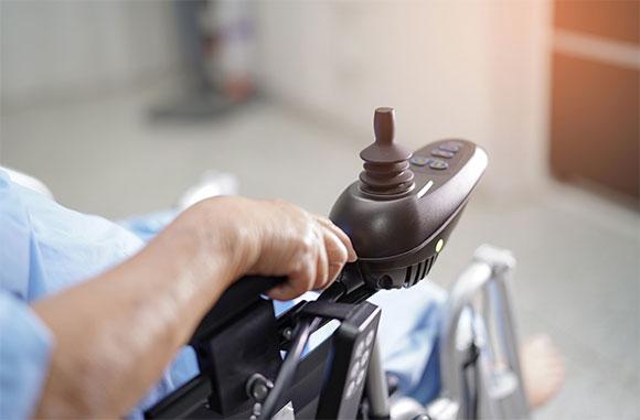 wheelchair arm rest